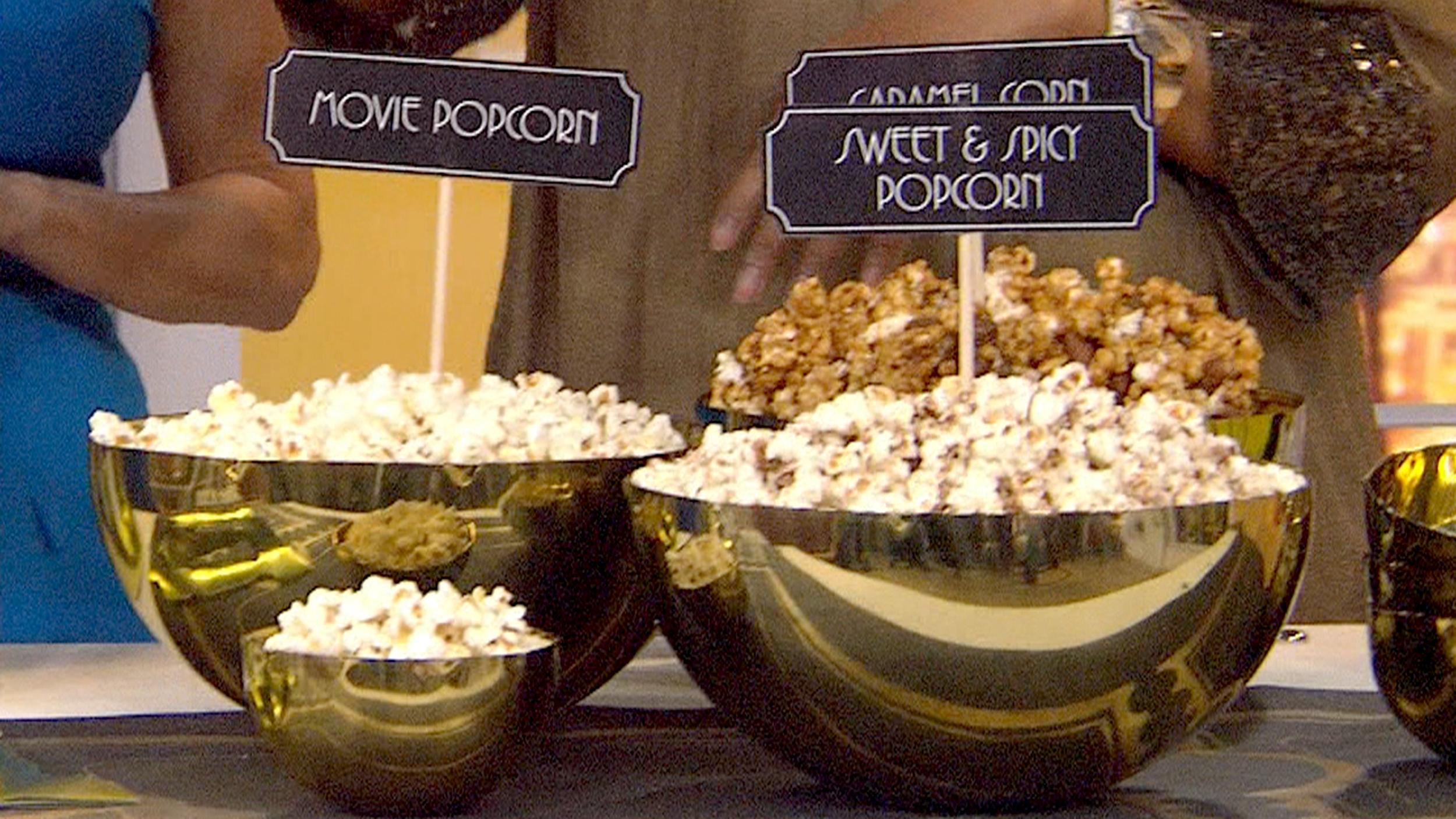 Academy Award Winning Popcorn And Cocktail Recipes