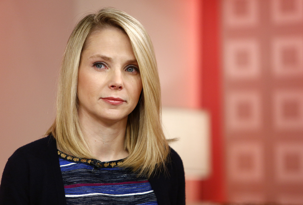 A new study's initial findings show that shareholder value can be enhanced by an attractive CEO, such as Yahoo's Marissa Mayer.