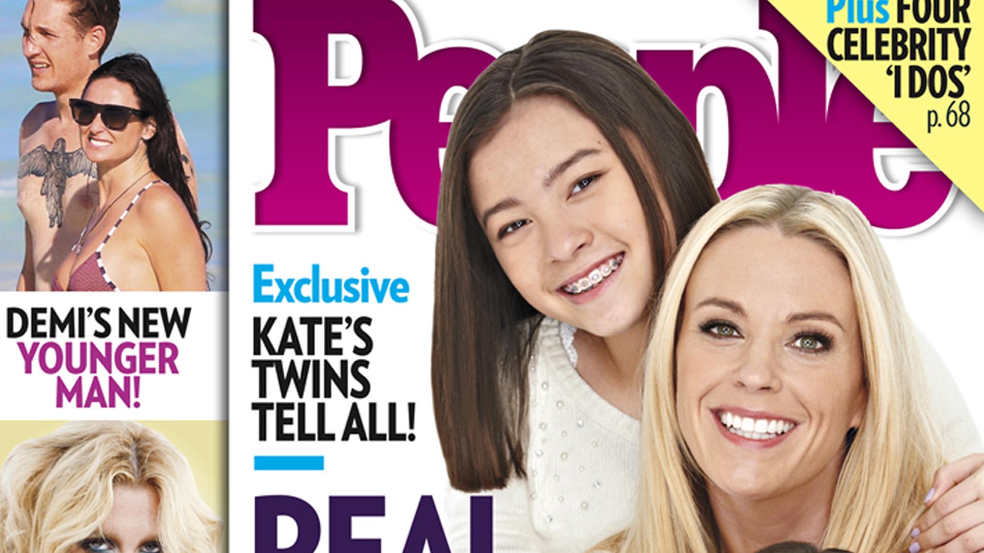 Image: Mady, Kate and Cara Gosselin