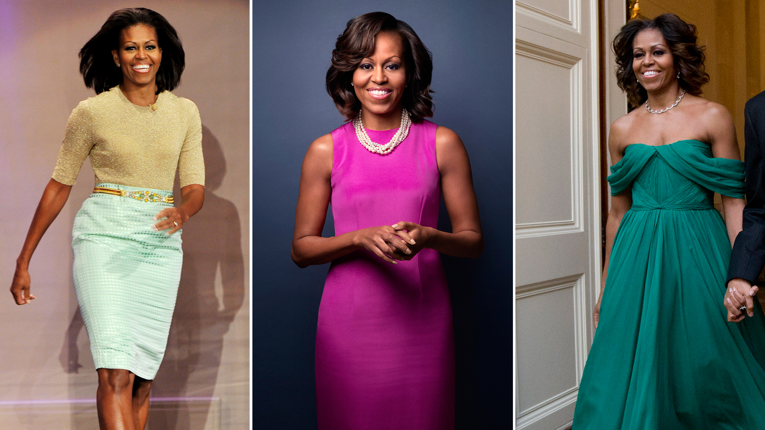 39 The Mrs Obama Effect 39 First Lady 39 S Boldest Looks Redefine Style