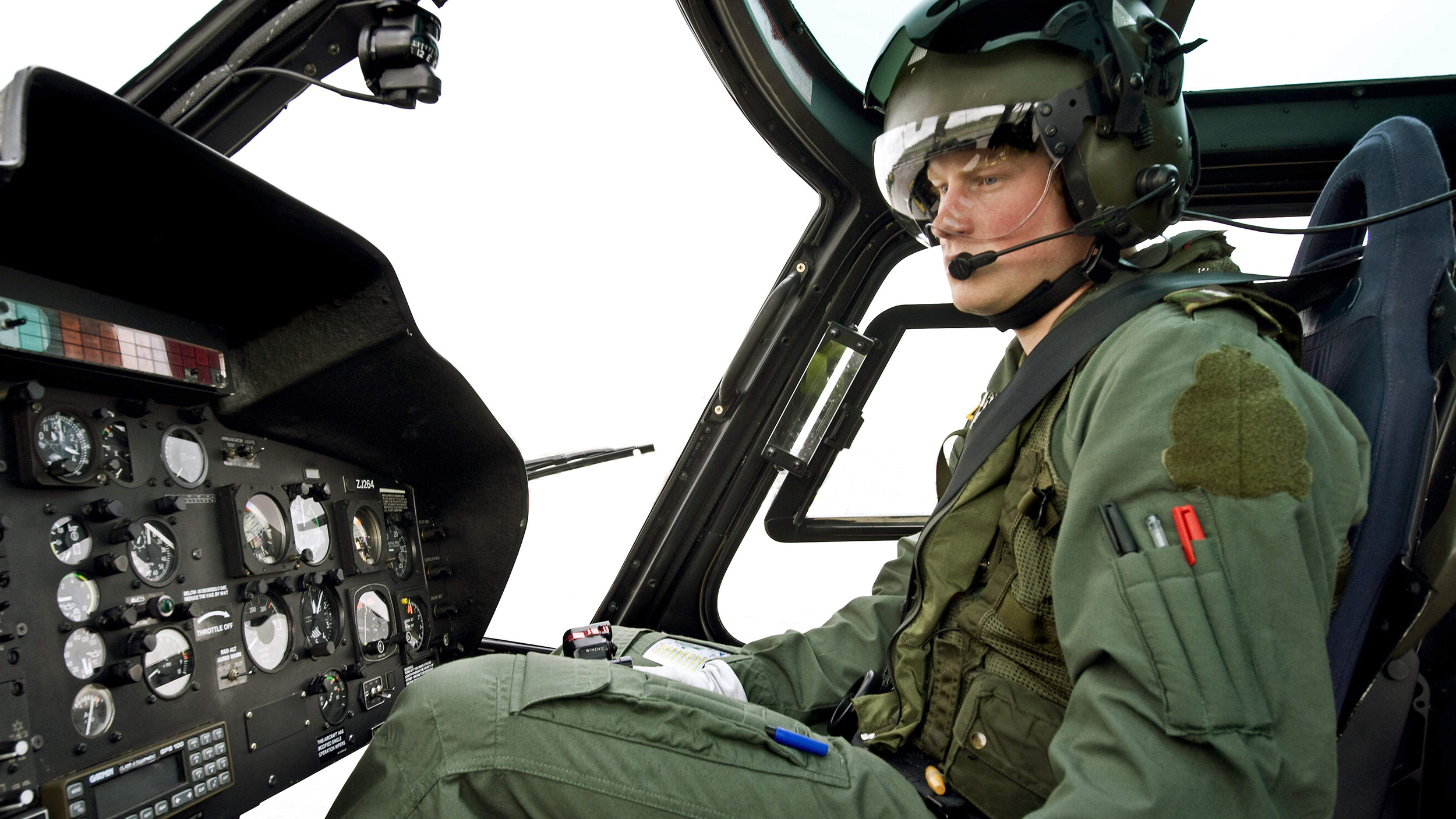 Prince Harry Quits His Job As A Military Helicopter Pilot