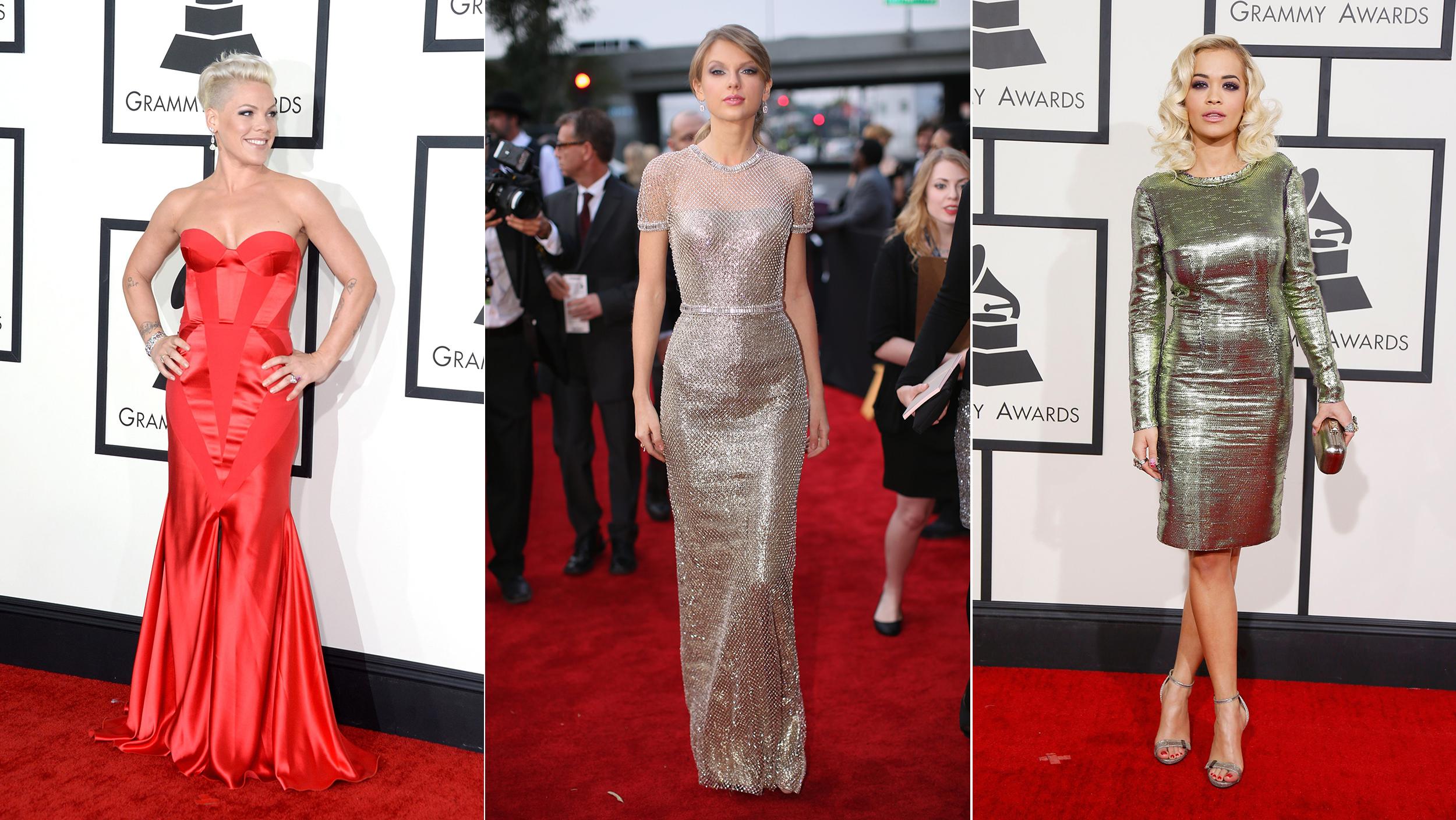 Grammys: Vote: Who Wore It Best On The Grammys Red Carpet?