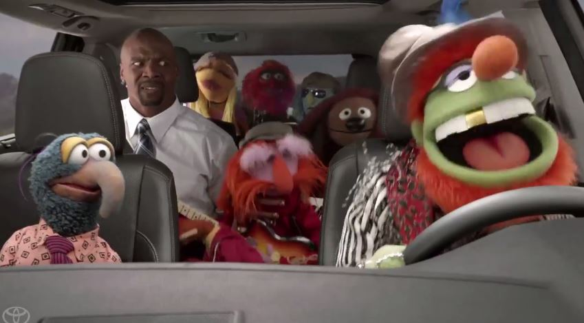 Muppets Carjack Terry Crews In Toyota Super Bowl Ad