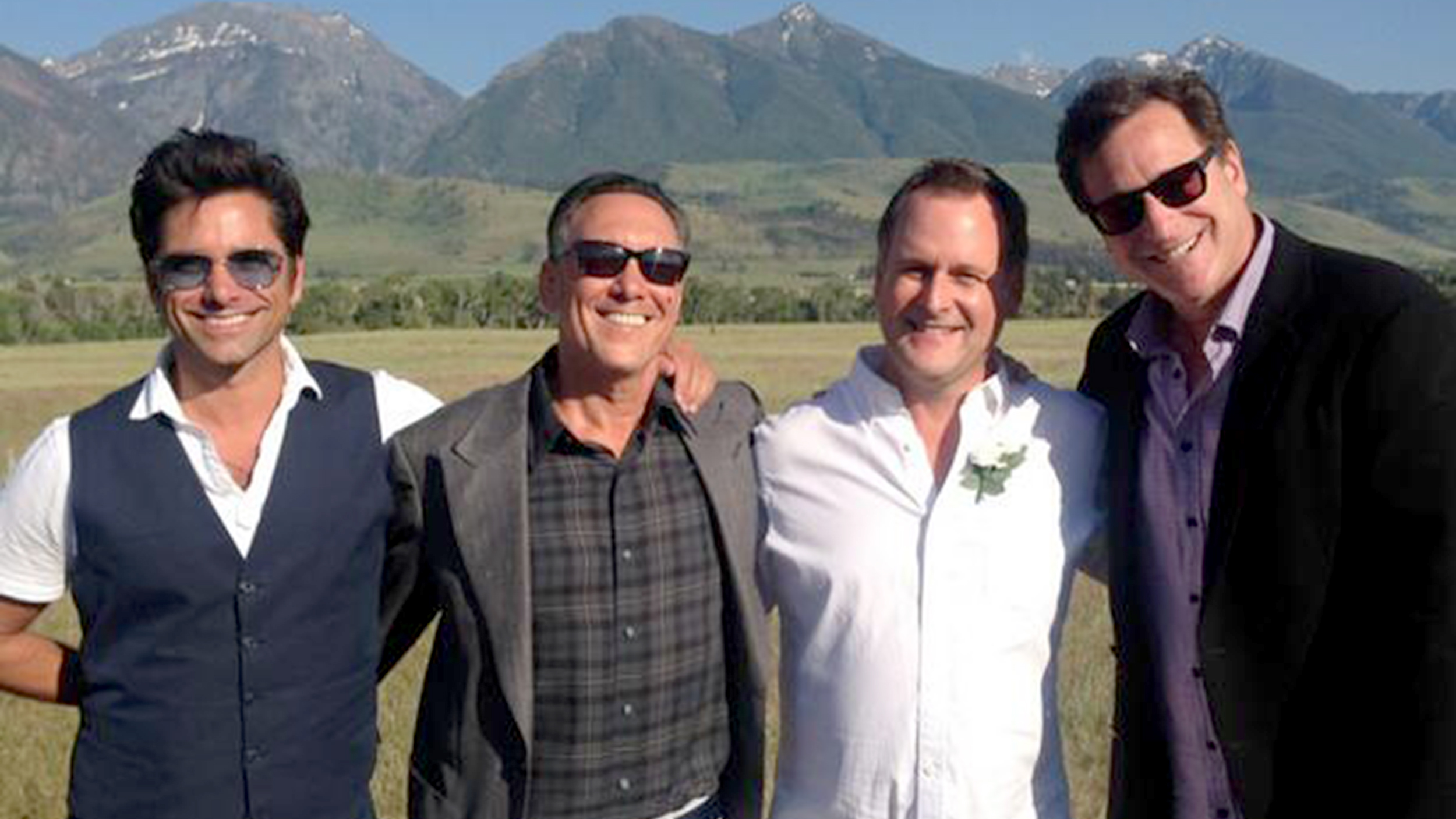 Dave Couliers wedding turns into Full House reunion TODAY