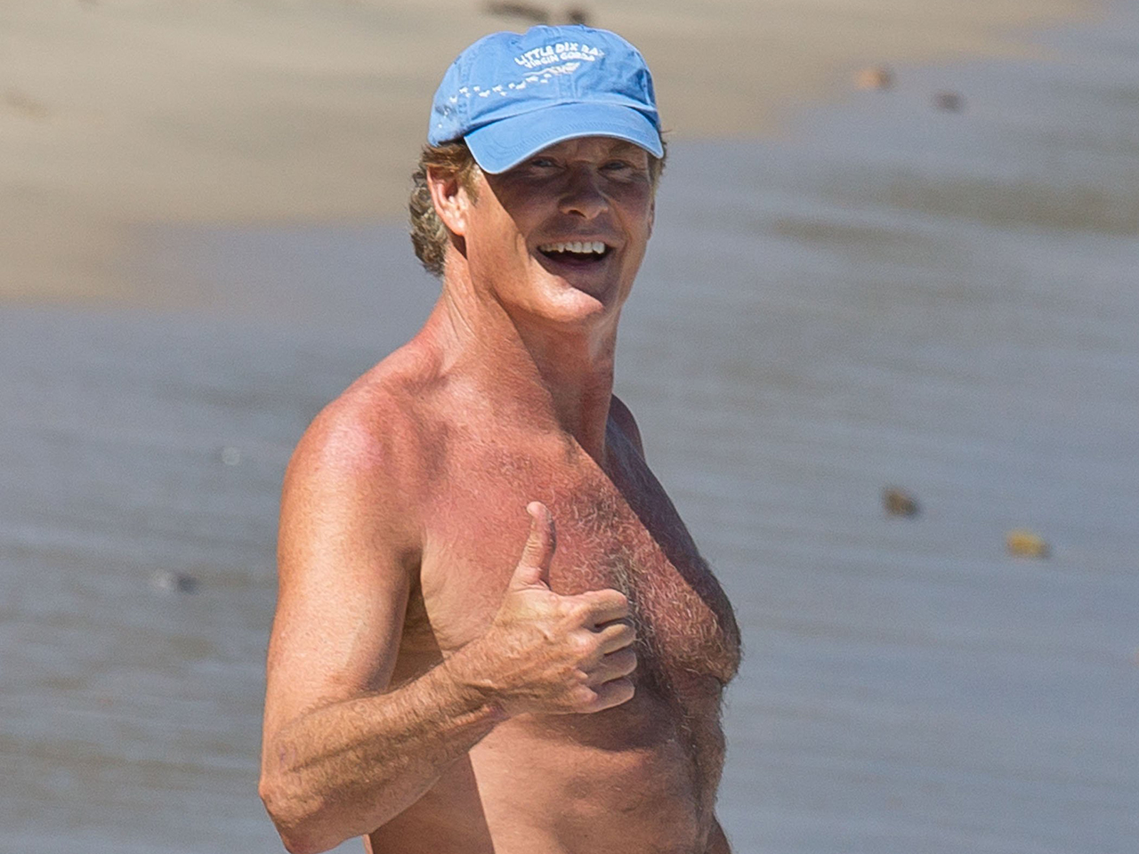 david hasselhoff hits the beach and more celeb sightings