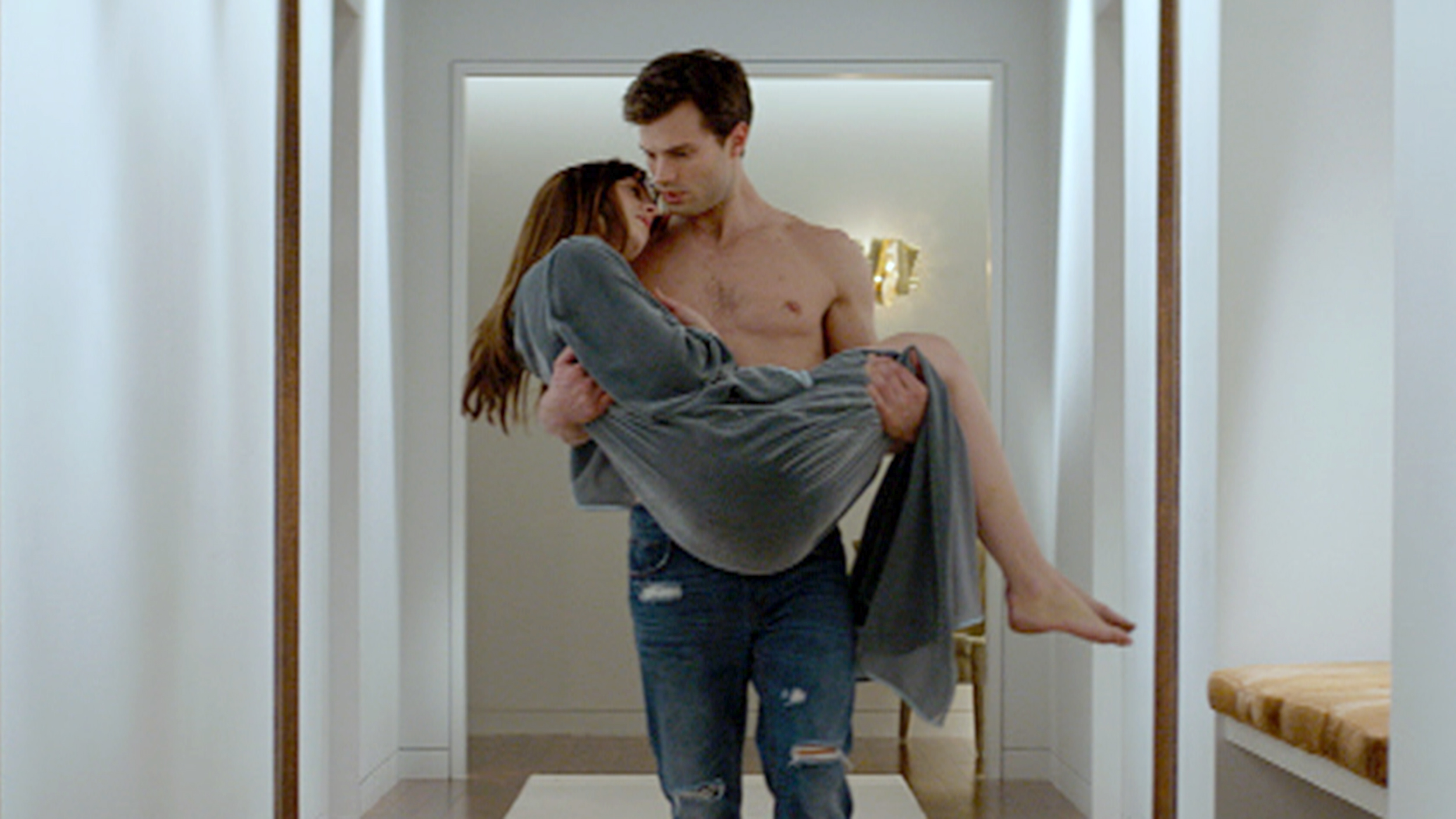 watch the full fifty shades of grey movie trailer what we couldn t show on tv. Black Bedroom Furniture Sets. Home Design Ideas