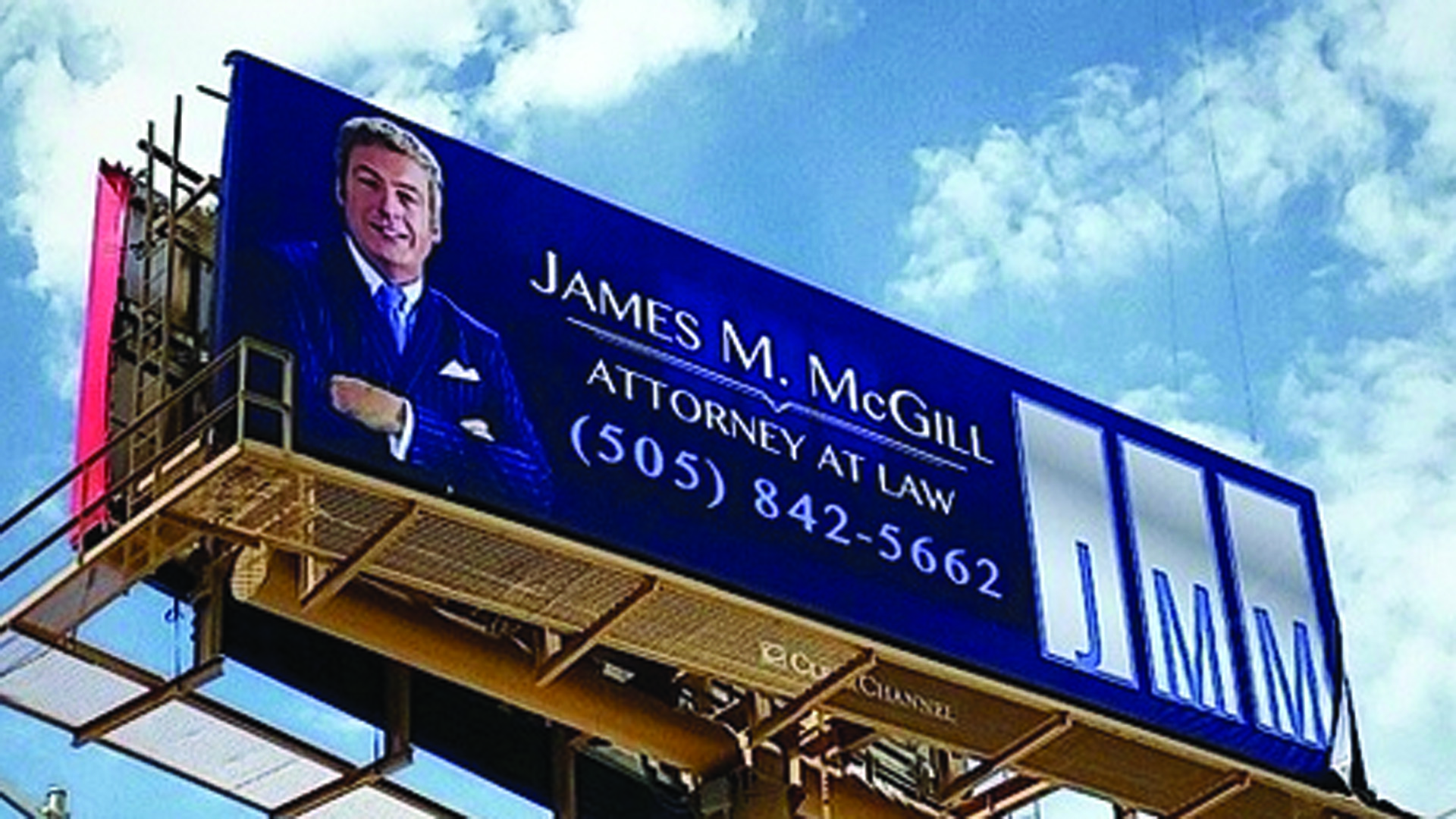 Better Call Saul Billboard Rings True For Albuquerque Residents