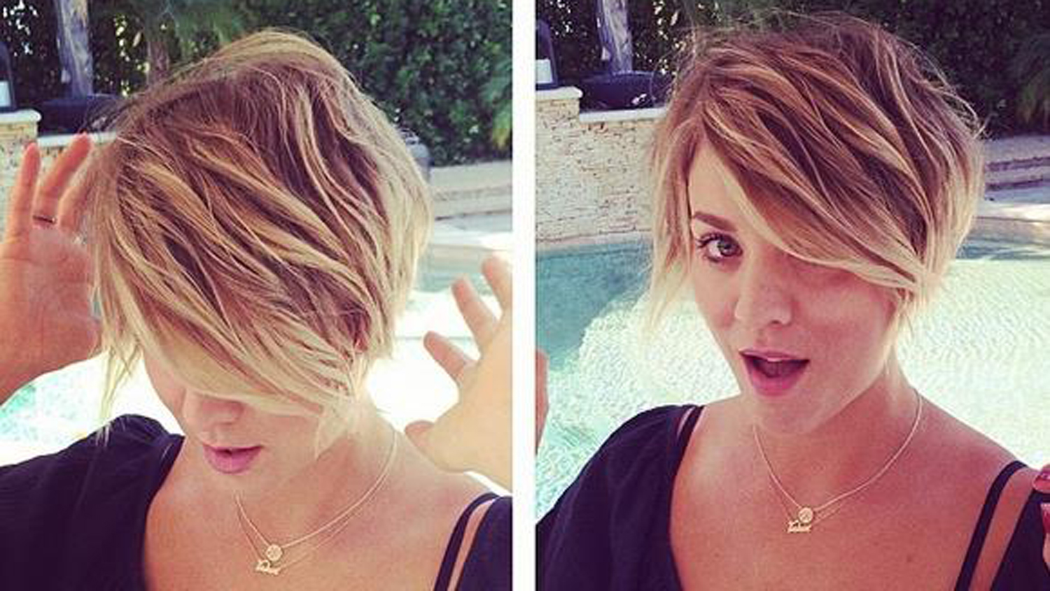 Big Bang Theory Star Kaley Cuoco Chops Hair Into Pixie
