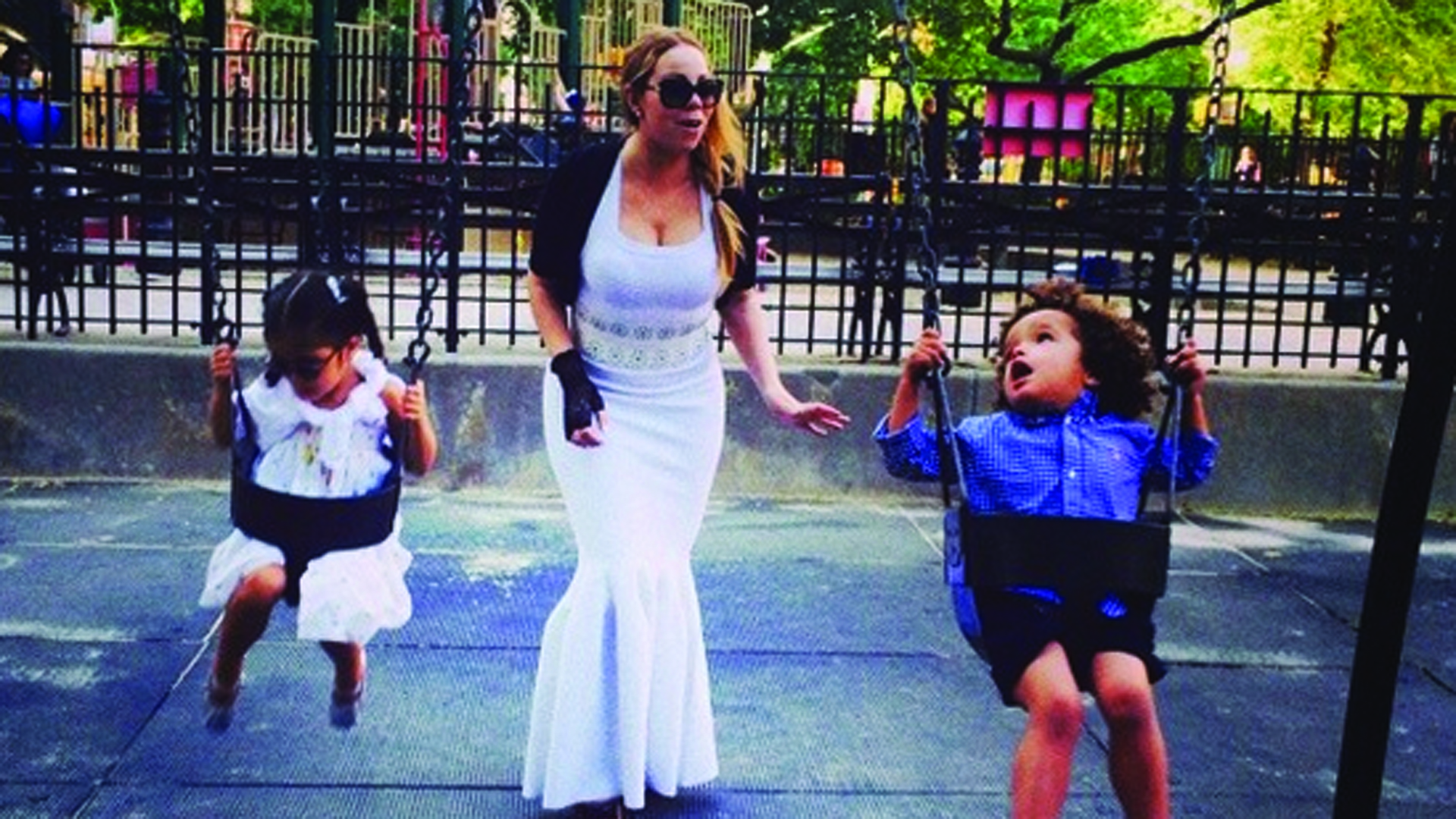 Dress Who Mariah Carey Wears Floor Length Gown To New