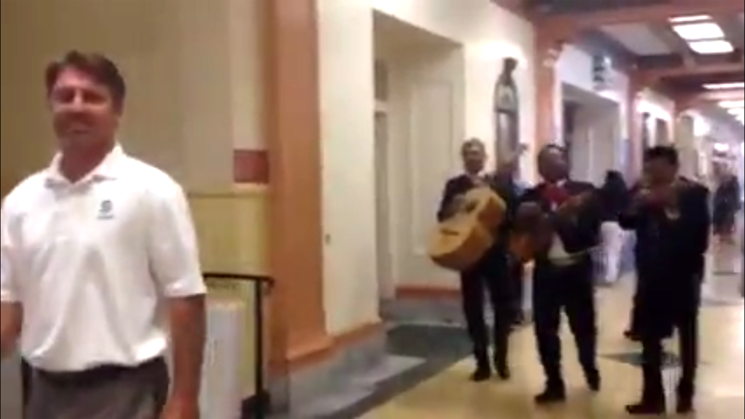 Students Hire Mariachi Band To Follow Principal Around For