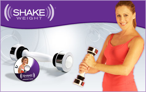 The Shake weight Image credits: The tasty orange