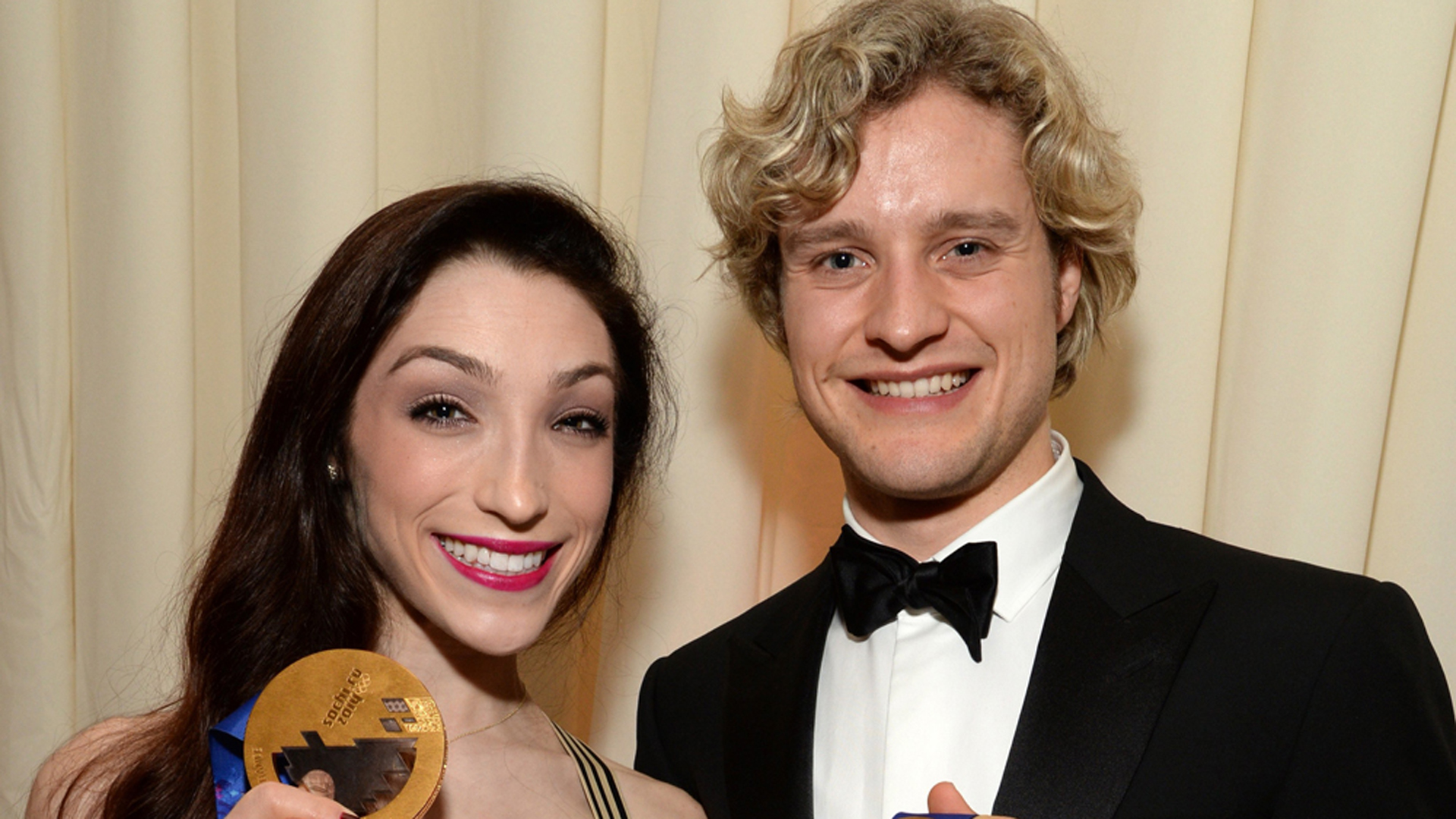 Dancing With The Stars Are Meryl Davis Charlie White: Sochi Skating Champs Charlie White, Meryl Davis Go