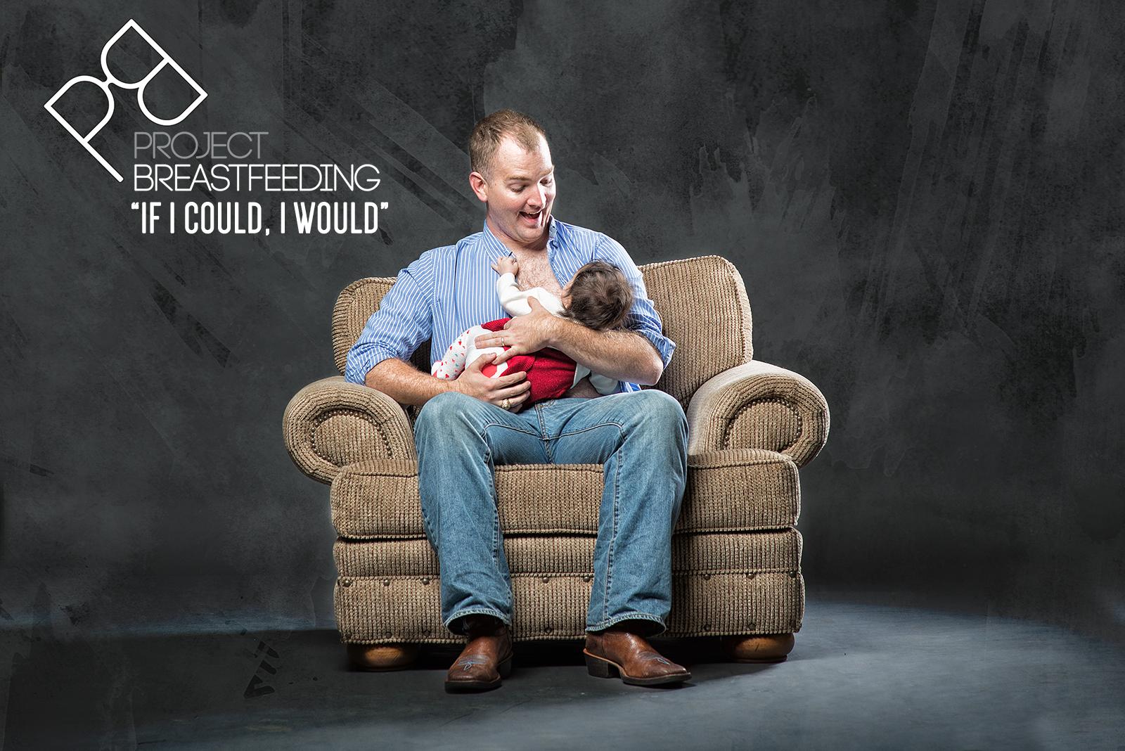 Male breast feed