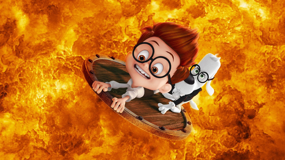 Its about time Mr Peabody  Sherman timetravel comedy charms