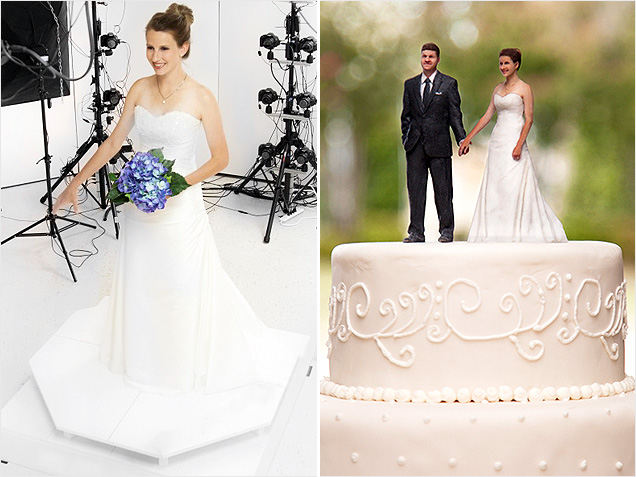 Create Your Own 3-D Wedding Cake Topper