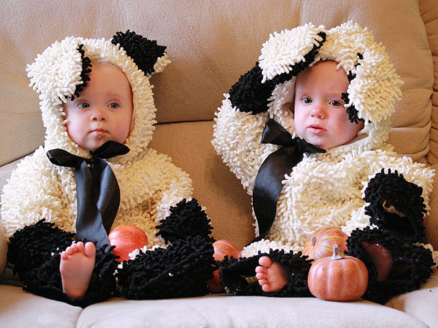 halloween costumes for twins. Black Bedroom Furniture Sets. Home Design Ideas