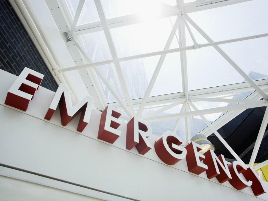 High Fever Child Emergency Room