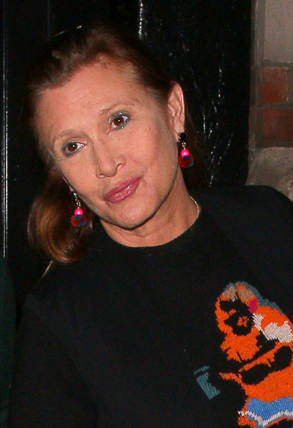 metal bikini time carrie fisher has lost 40 pounds for