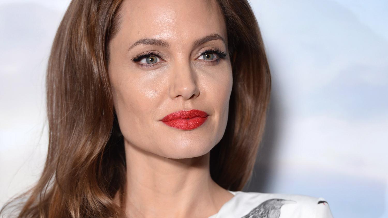 Angelina got with big - 5 1