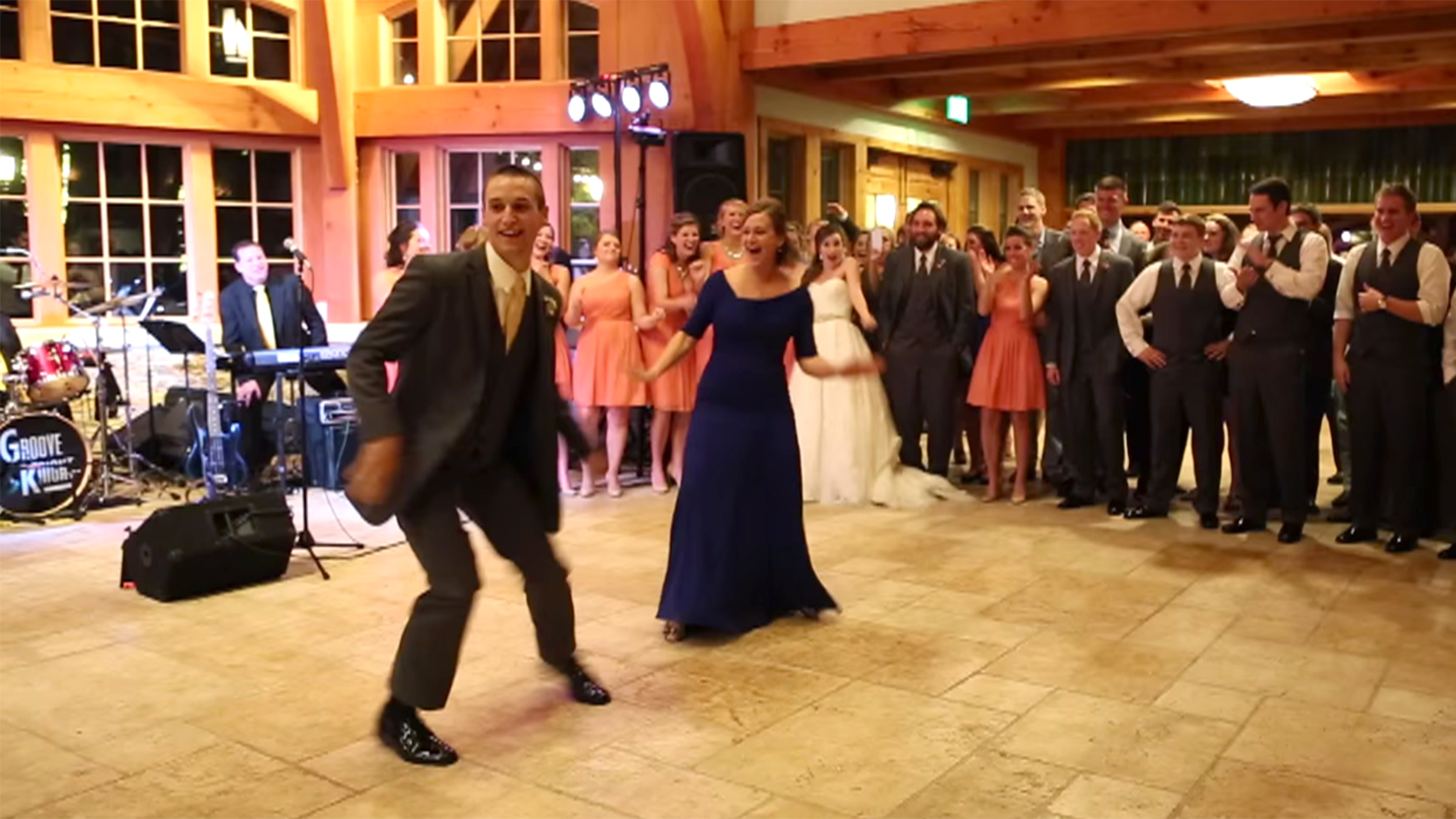 Shake It! Mom, Son Perform Wedding Dance For The Ages