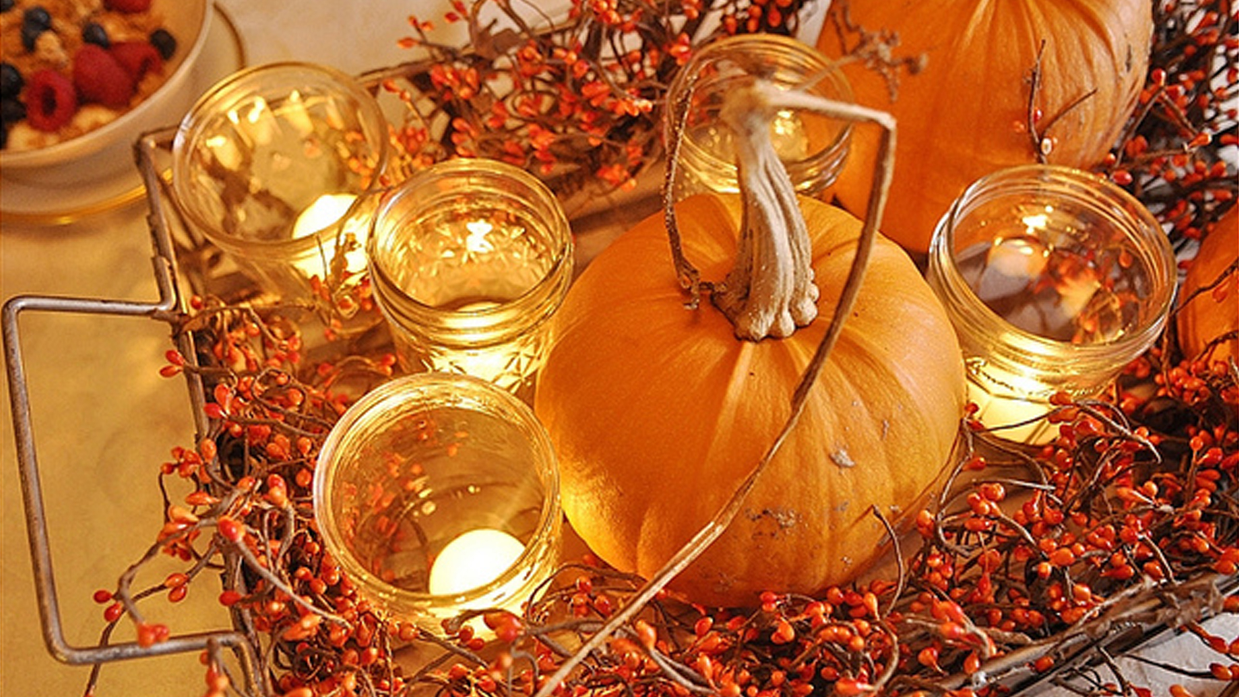 Thanksgiving decorations diy pumpkin centerpieces for