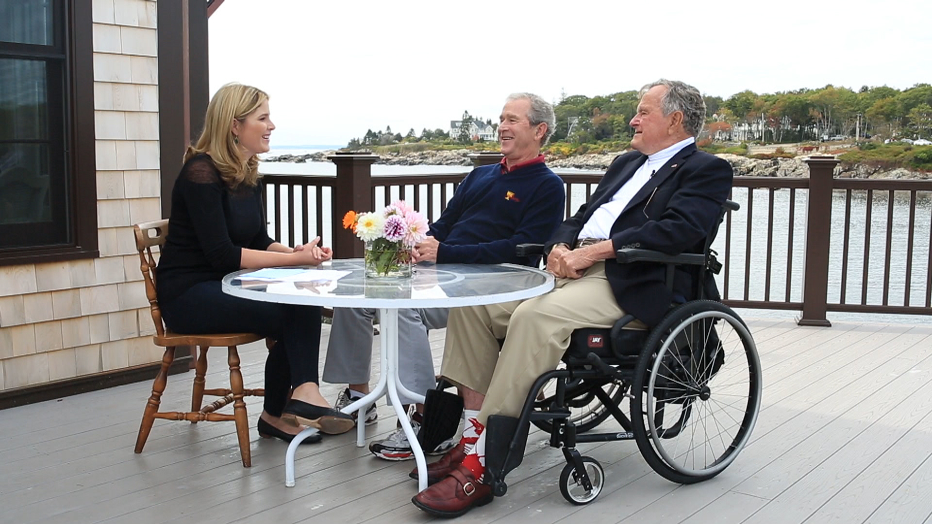 George H W Bush Son Talk Presidential Pals And