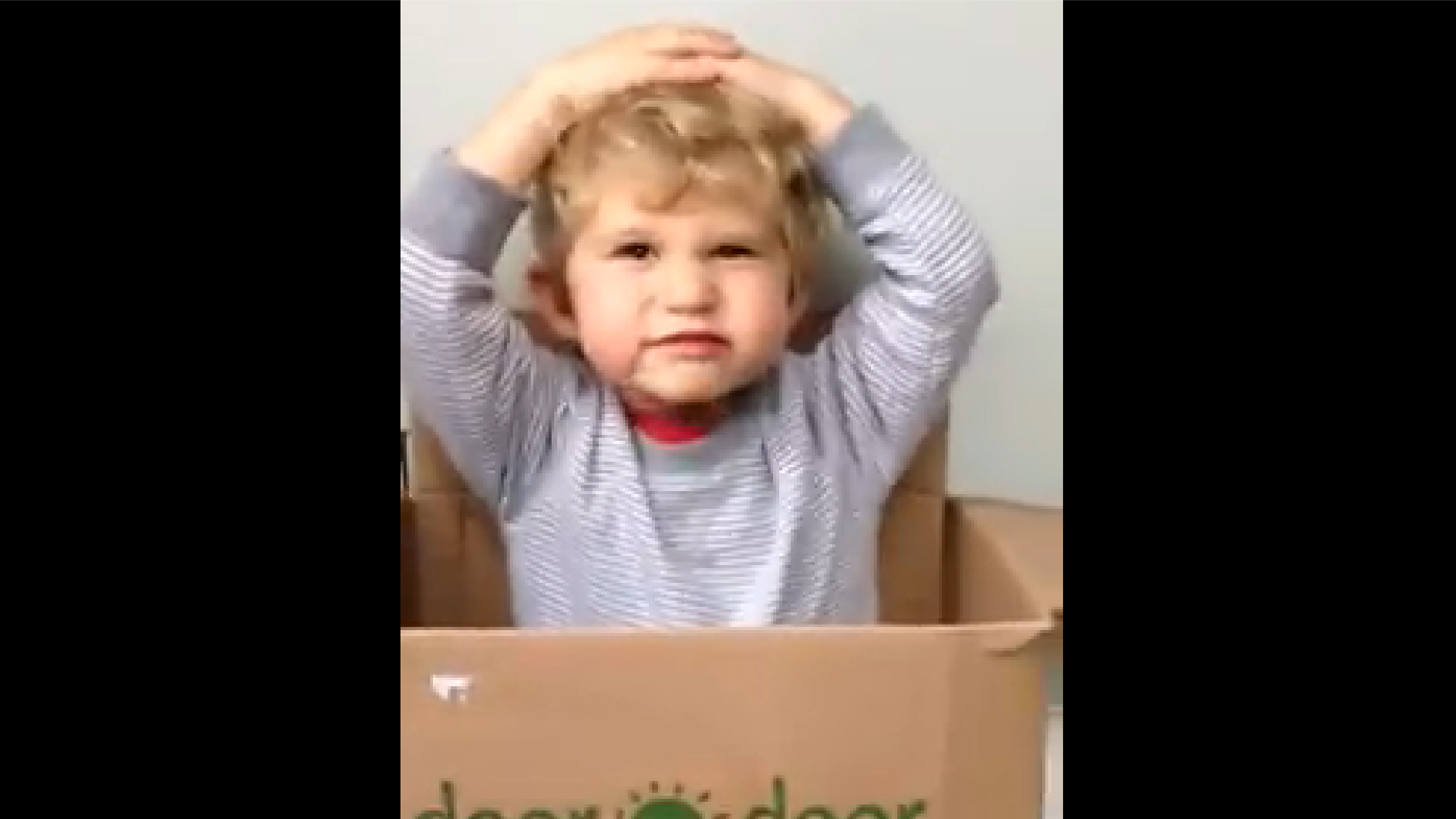 Daddy wore diapers?! Toddler cant believe it in adorable