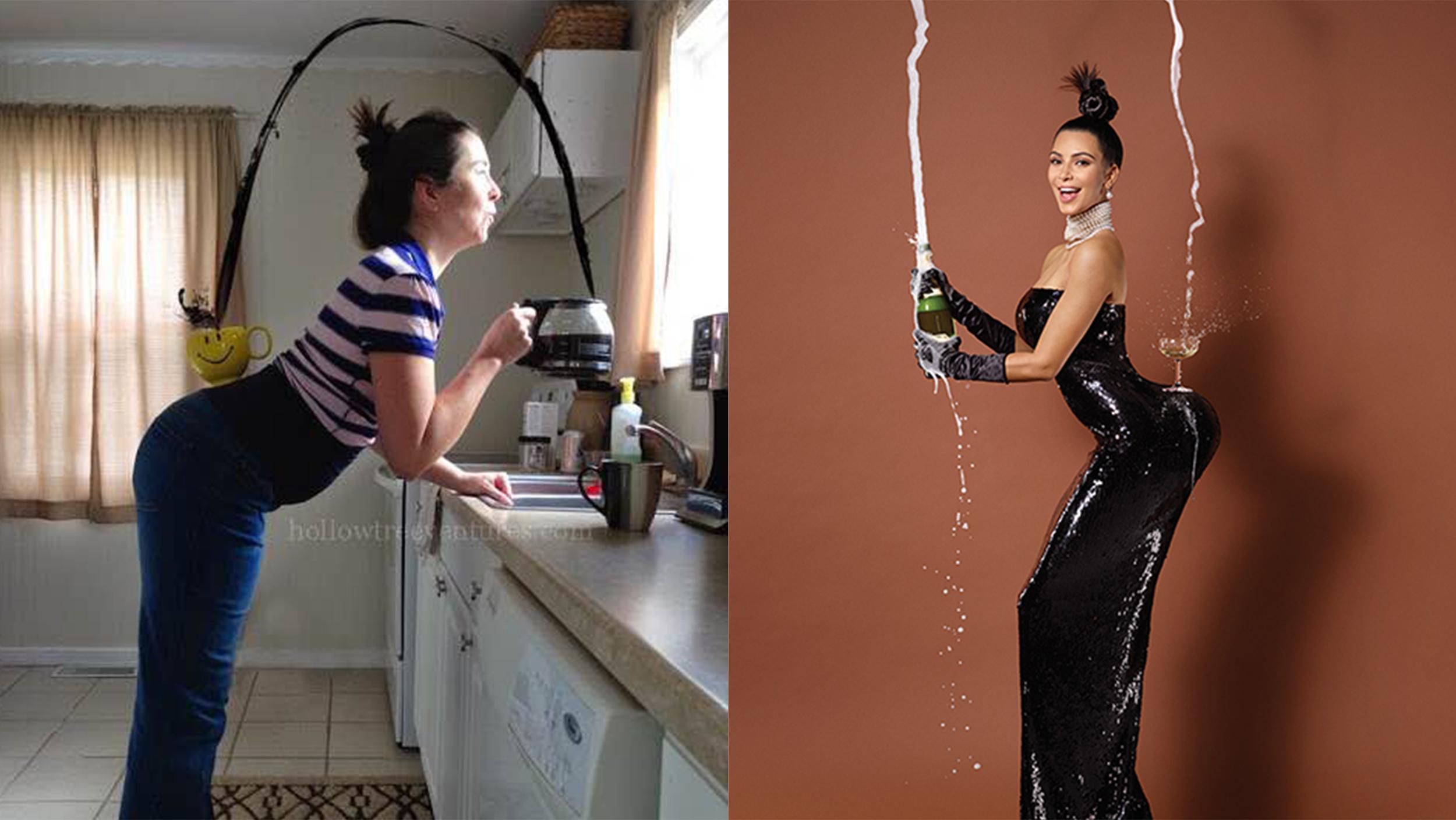 Kim kardashian cover inspires funny parodies from moms Internet magasin