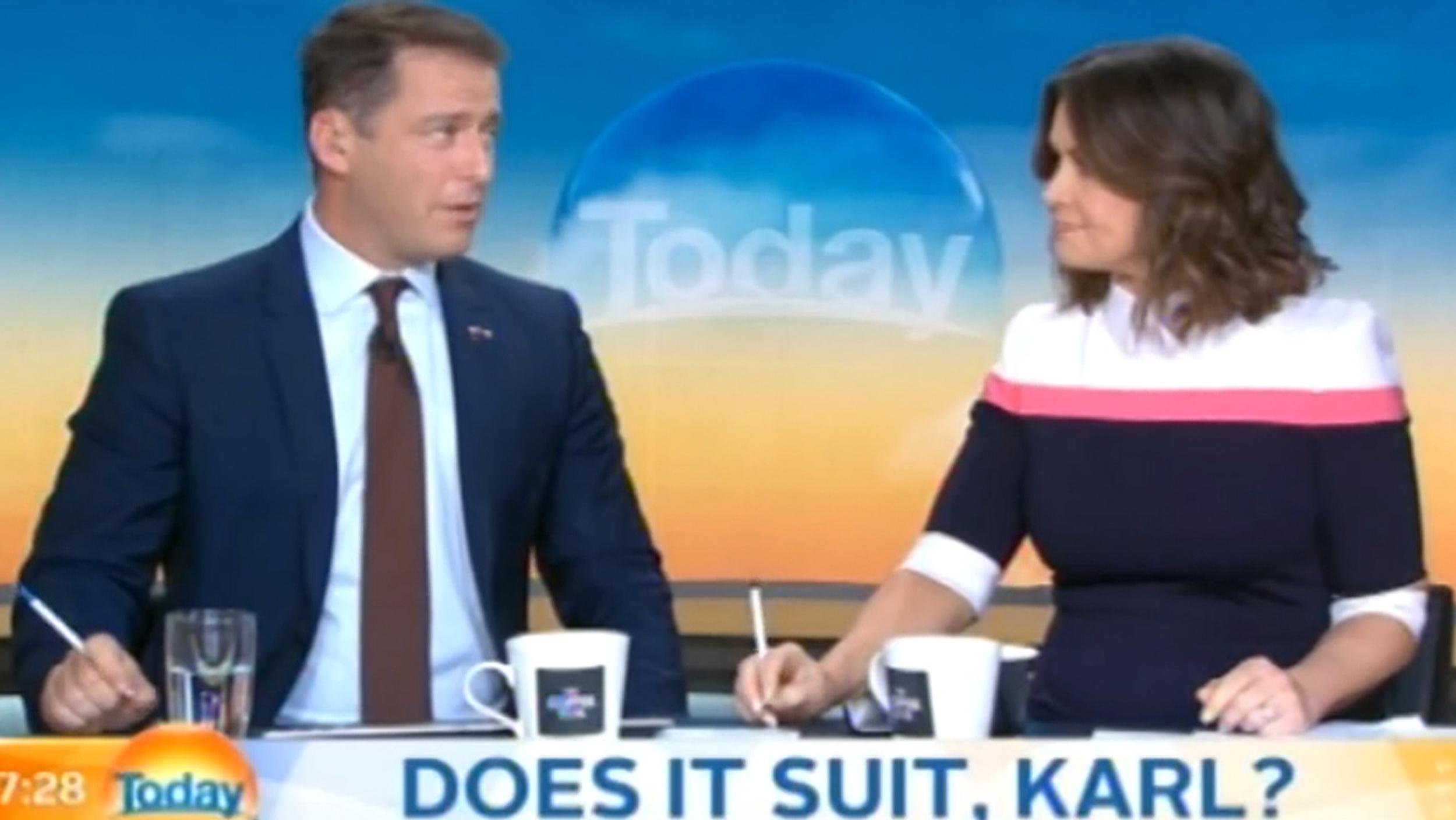australian morning show host karl stefanovic wears same