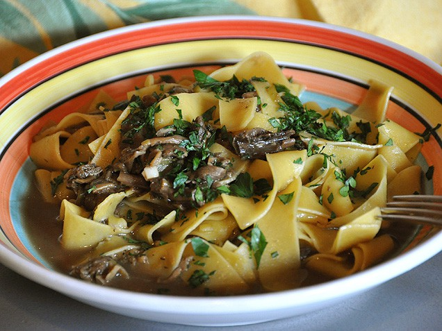 Pasta with porcini mushroom sauce - TODAY.com