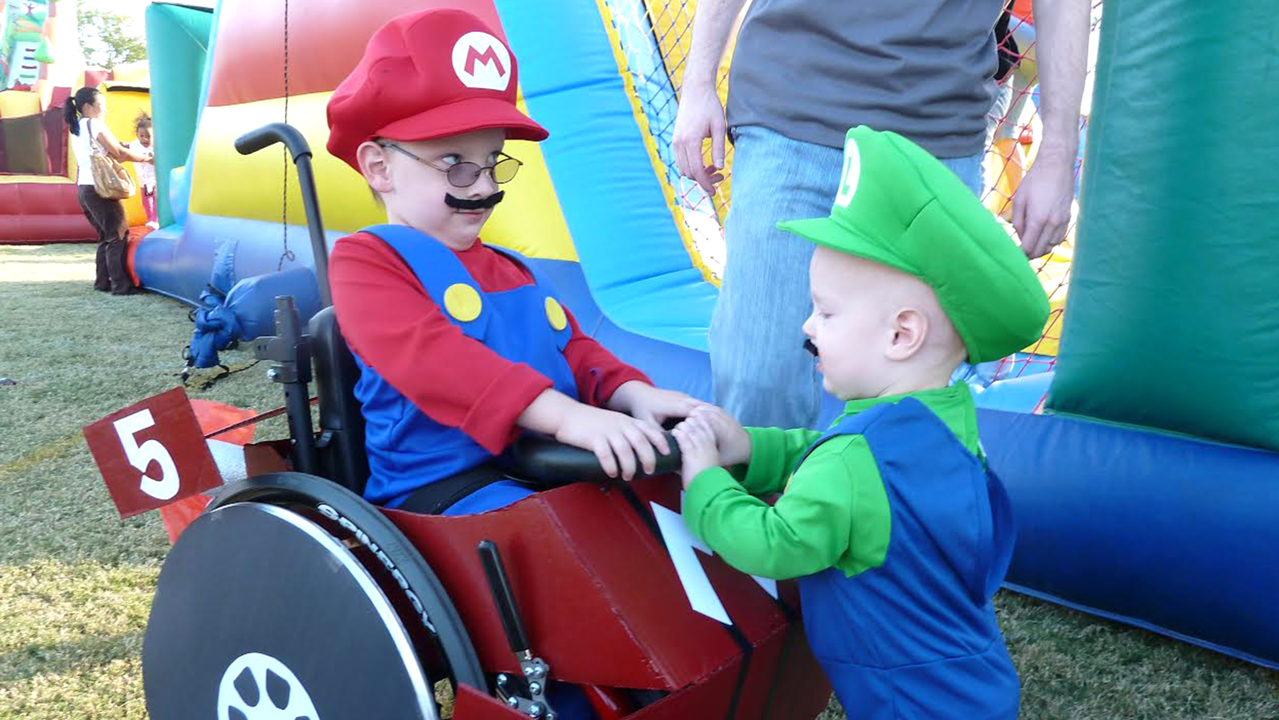 halloween on wheels wheelchair costumes bring joy to kids today com