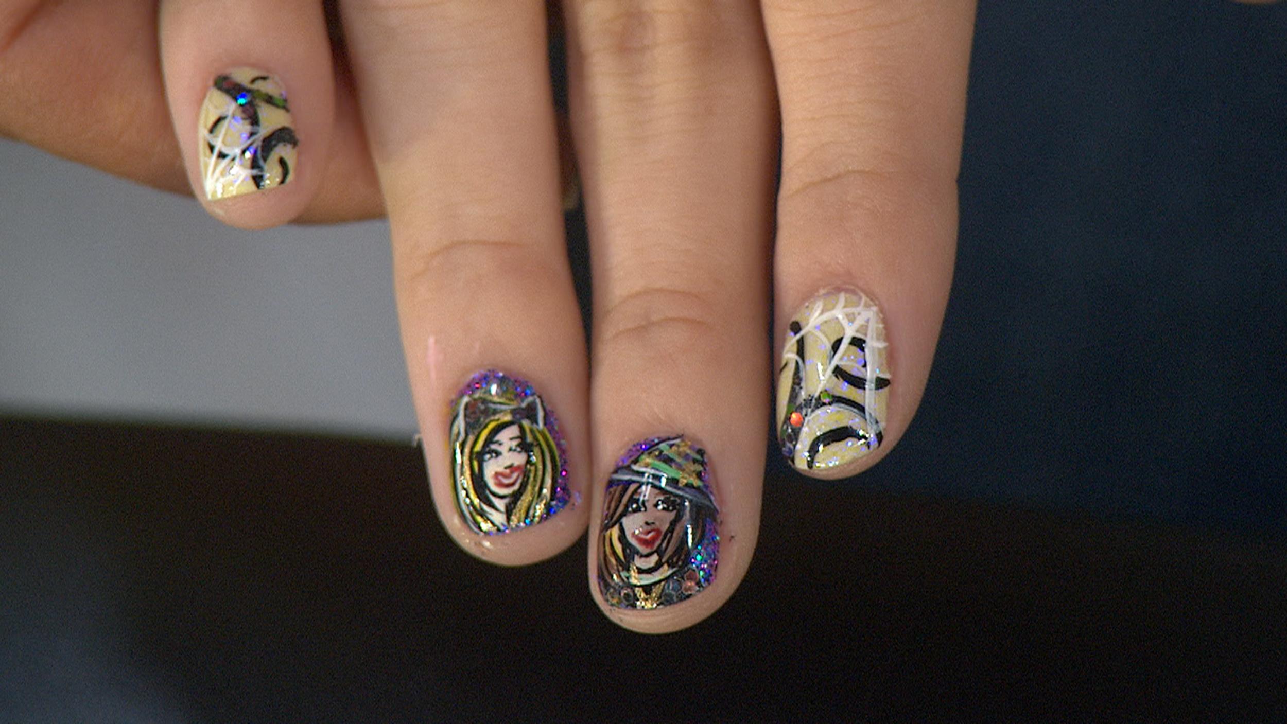Naild It\' contestants paint fun, fall-themed Halloween nail art