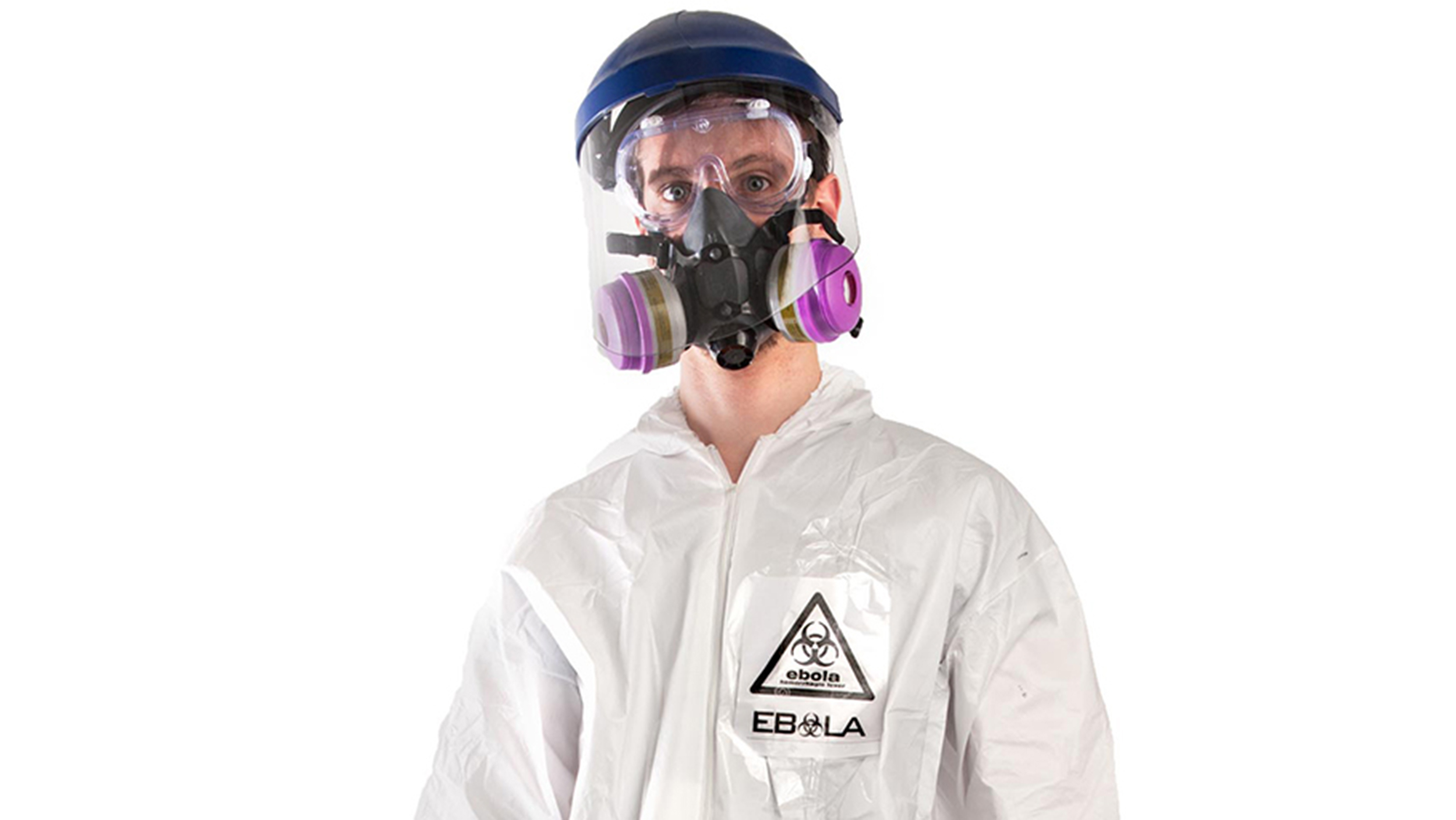Ebola hazmat costume on sale in time for Halloween
