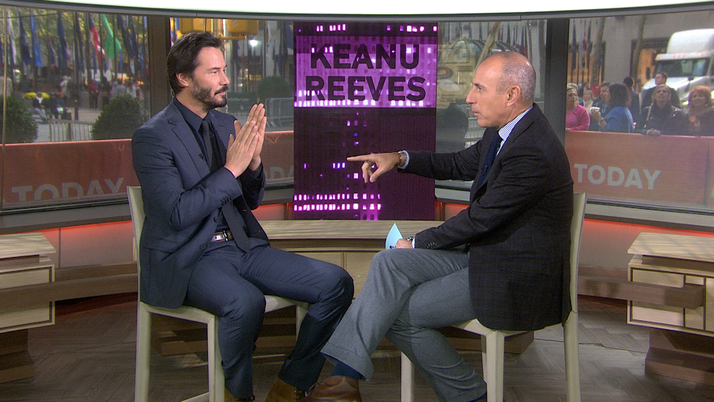 Keanu Reeves Reveals Secret To Doing Stunts At 50 Ice