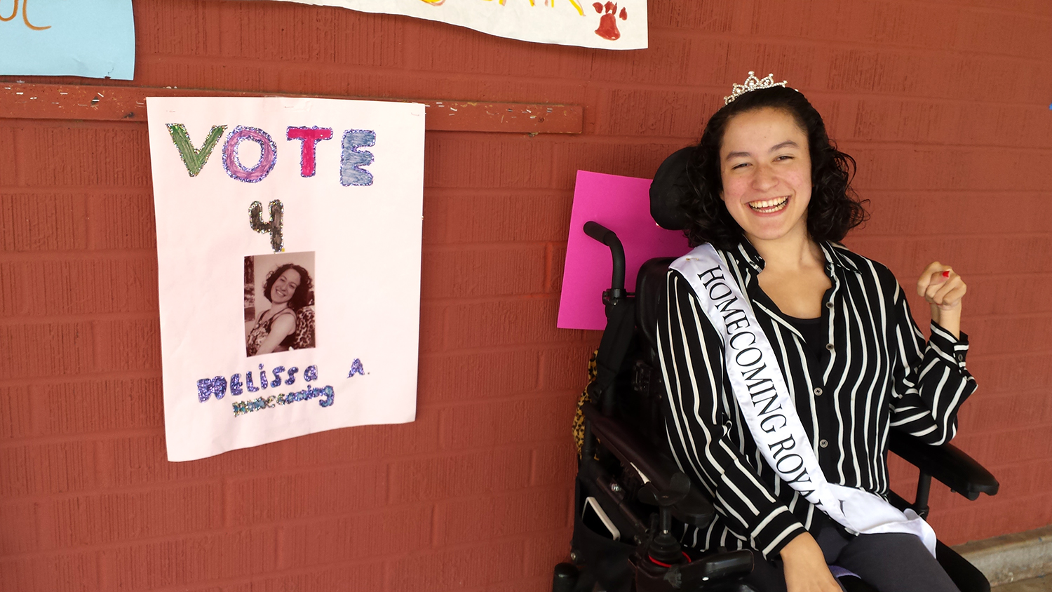 Cerebral palsy student crowned homecoming queen - TODAY.com