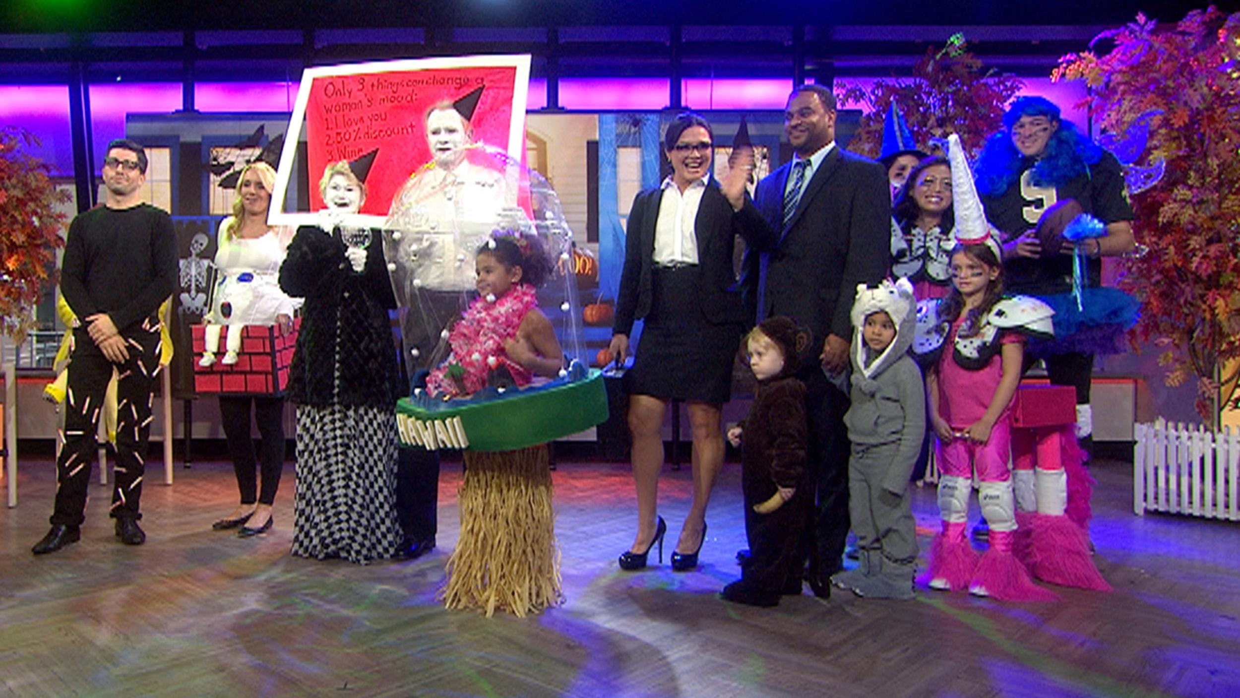 bobbie thomas' funny, last-minute halloween costumes