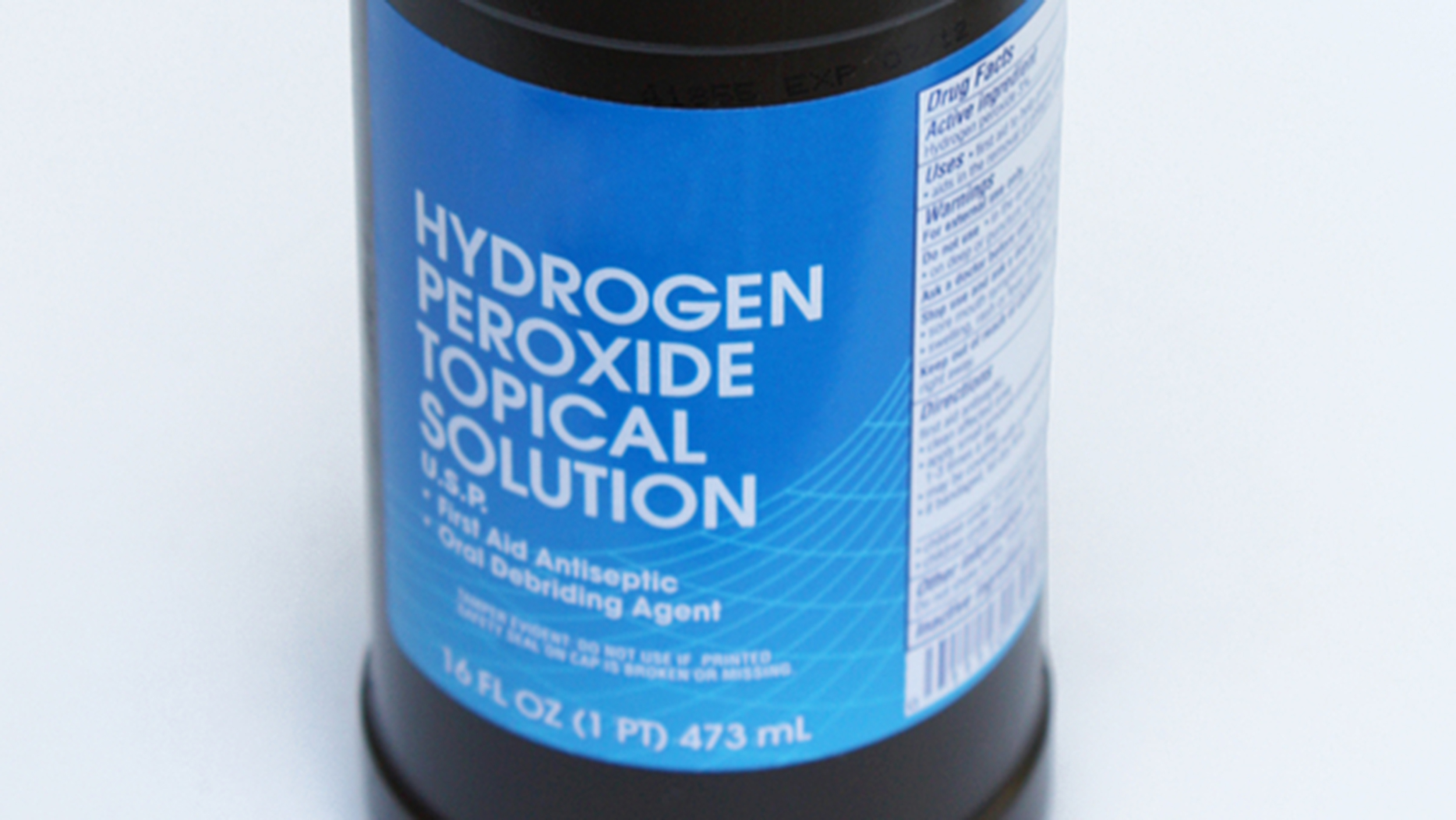 A 3-cent tooth whitener and 7 other surprising uses for hydrogen peroxide