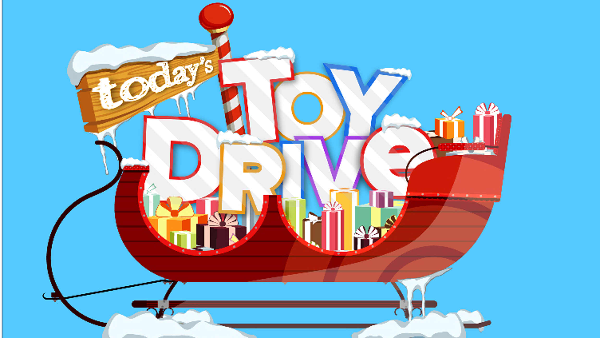 Christmas Toy Drive : Today s st annual toy drive make holidays sparkle for