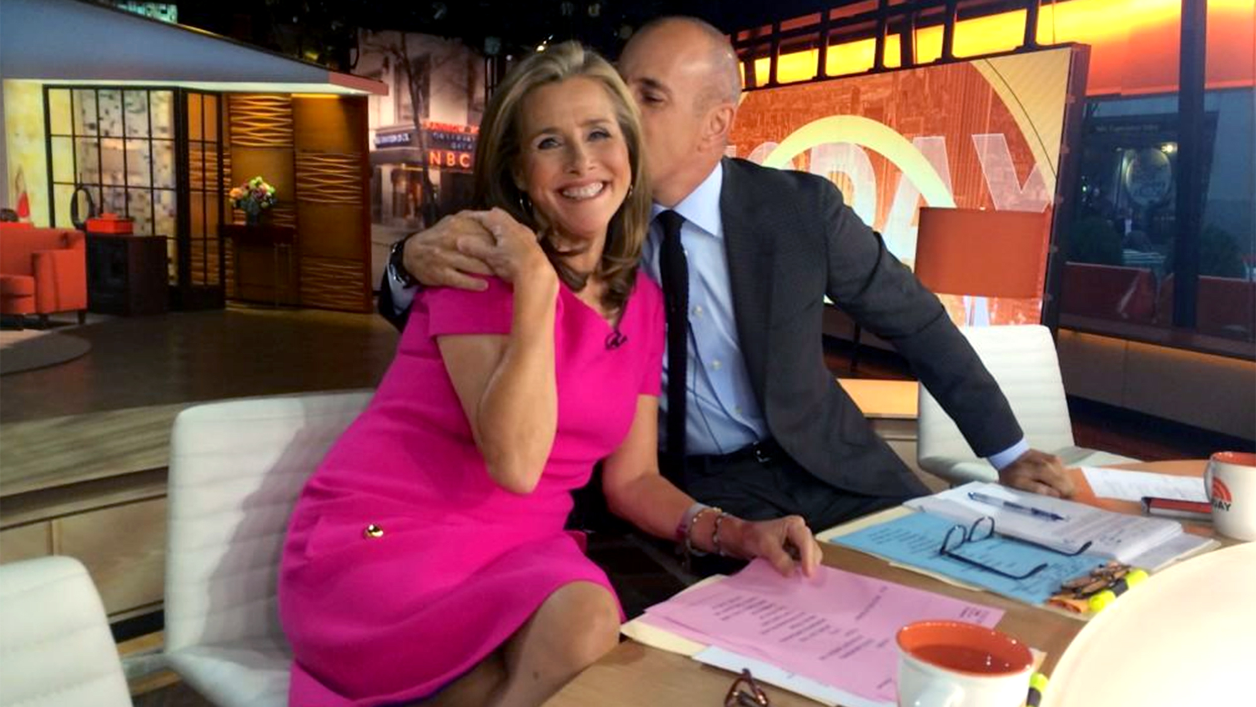 Meredith vieira upskirt on the today show - 3 part 8