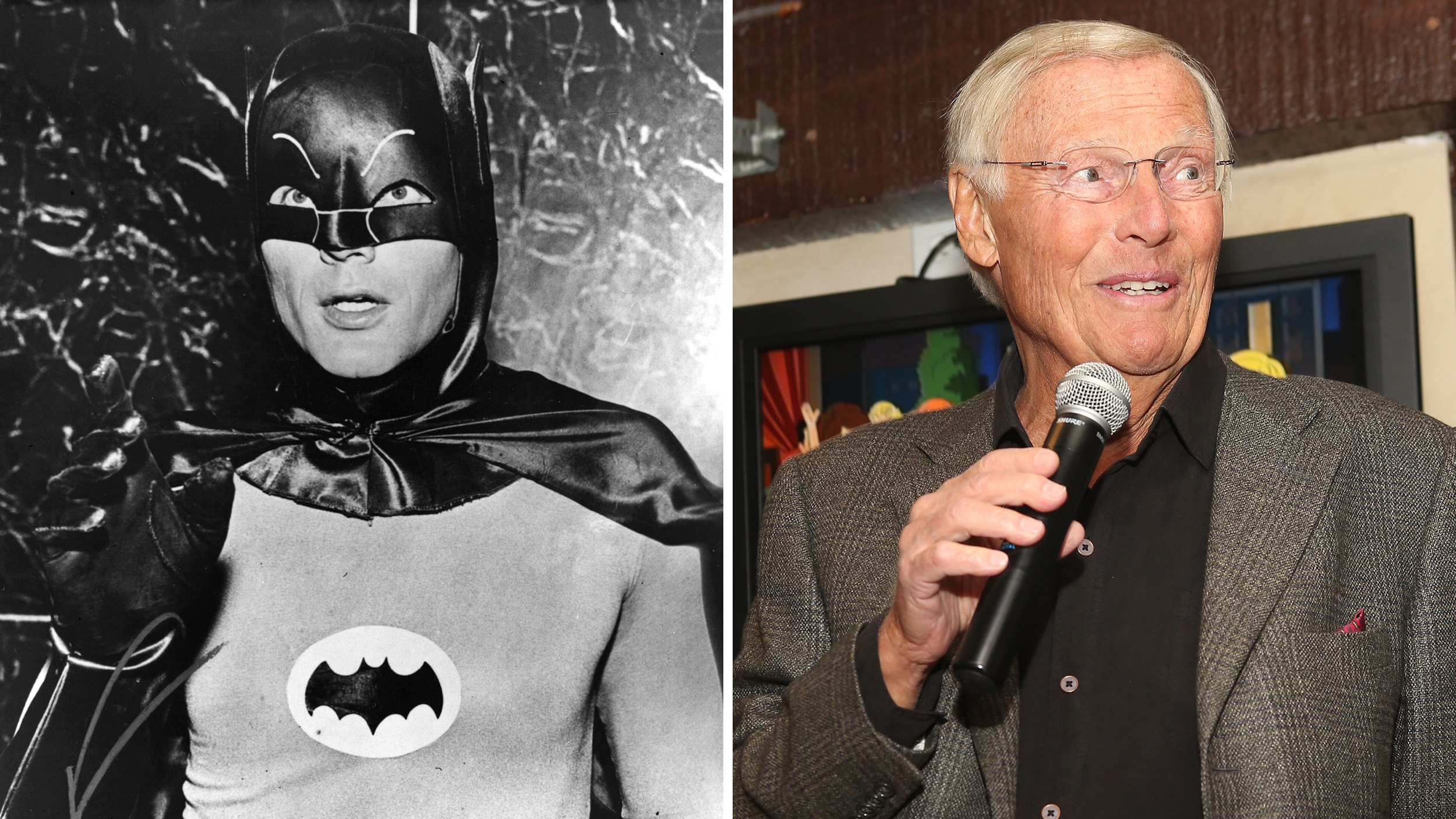 adam west batman dance