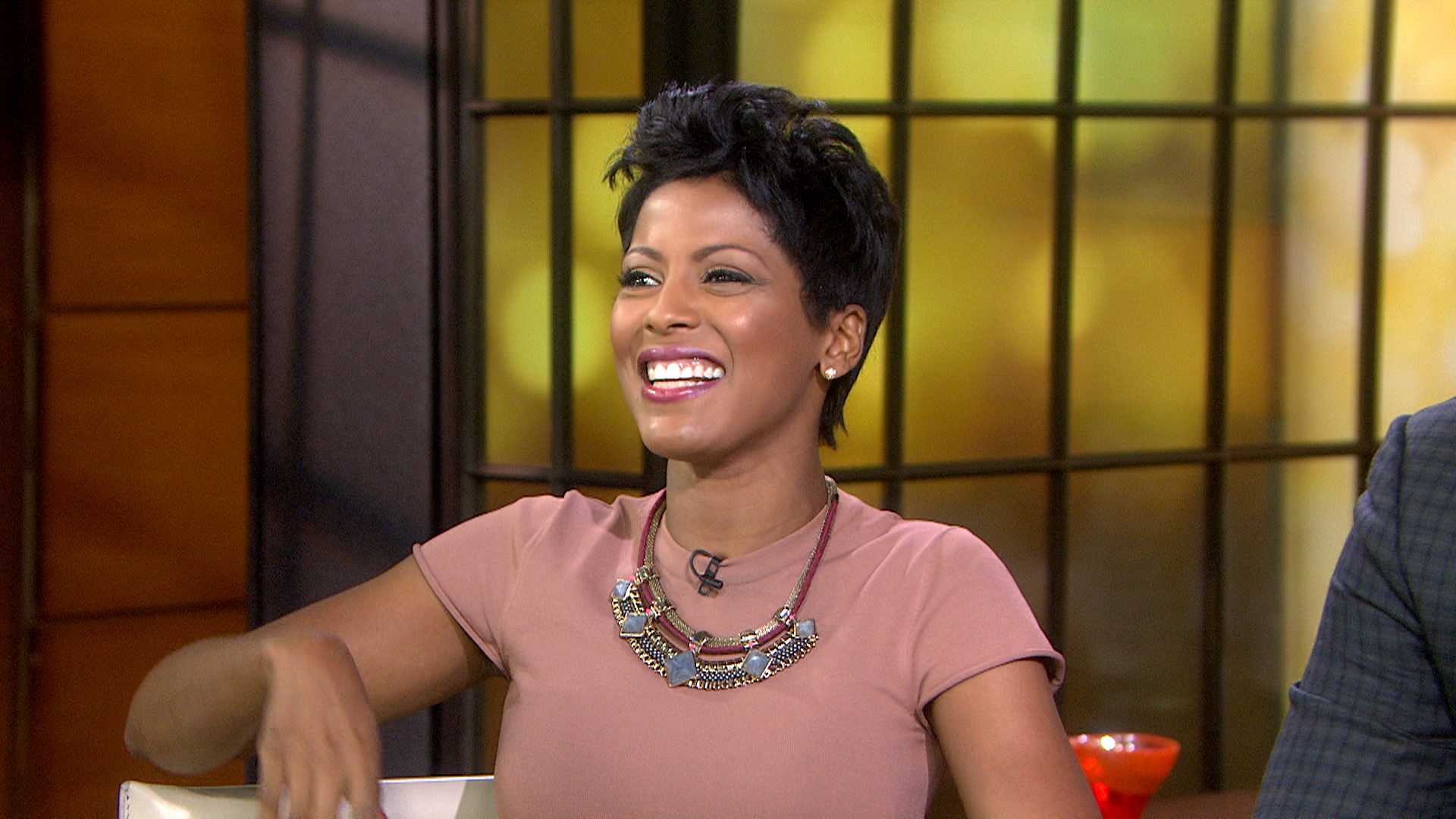 How to get Tamron Hall's stylish necklace that helps benefit breast cancer research