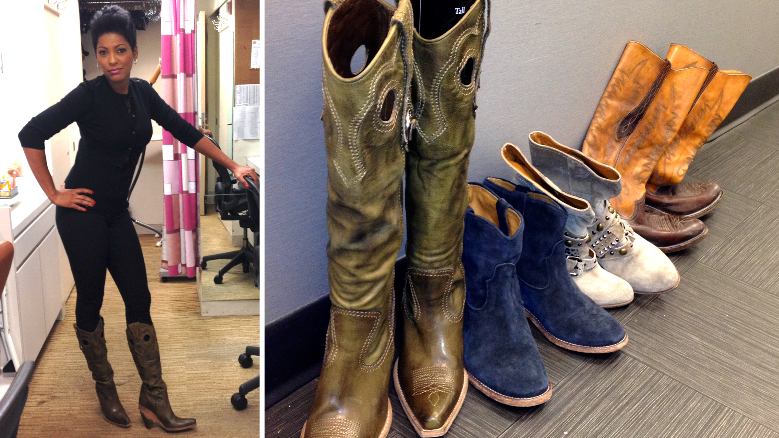 Tamron Hall Shows How To Get Her Chic Urban Cowgirl Style
