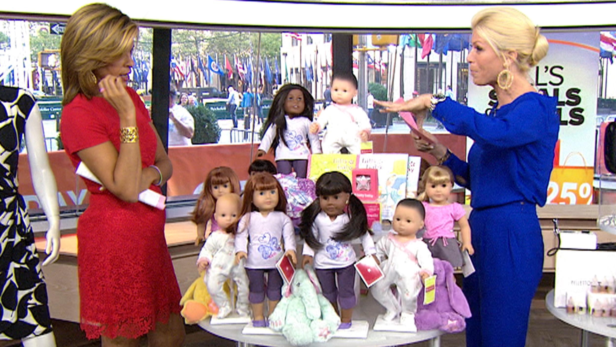 today show jills steals and deals american girl dolls