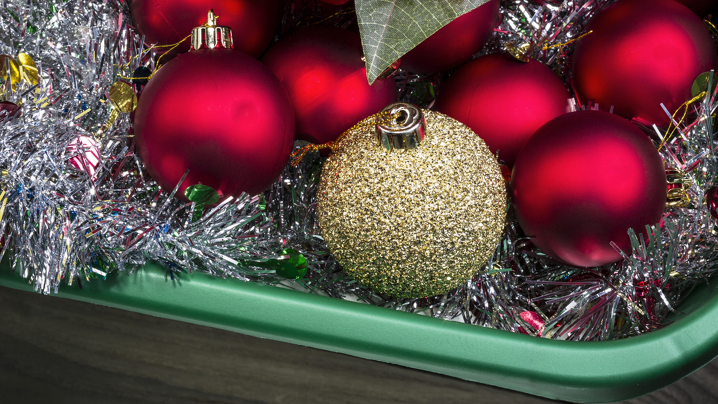 Organization tips for storing ornaments, garland and other holiday ...