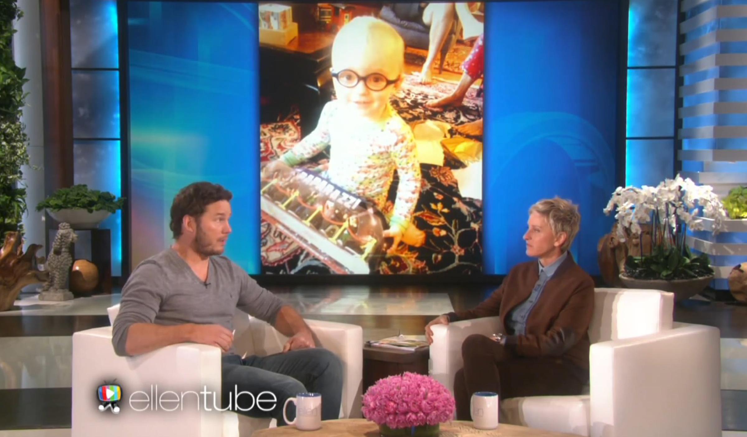 Chris Pratt Tells Ellen He Almost Cried Because Of Son S