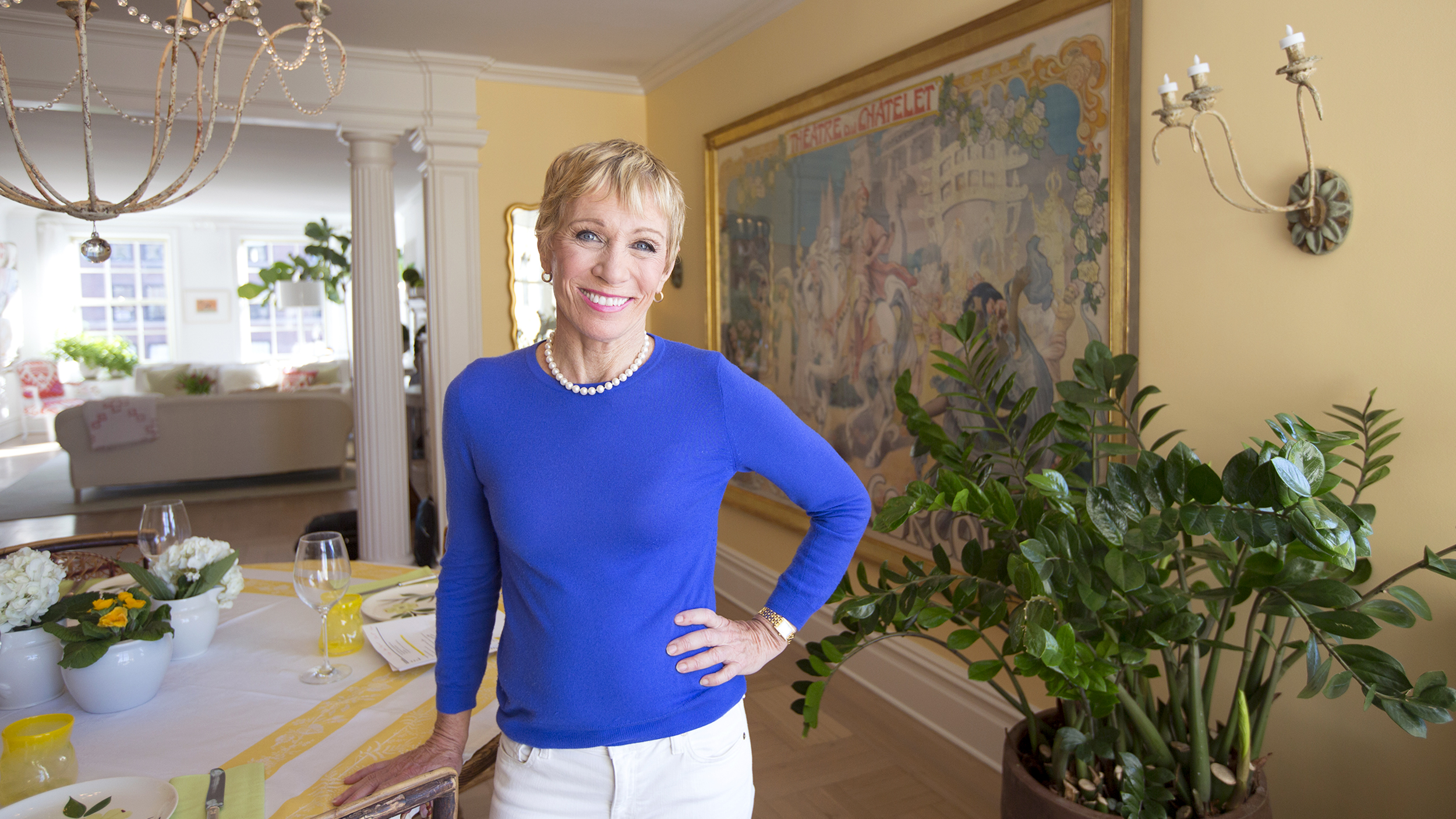 At home with today barbara corcoran welcomes you to her for Barbara house