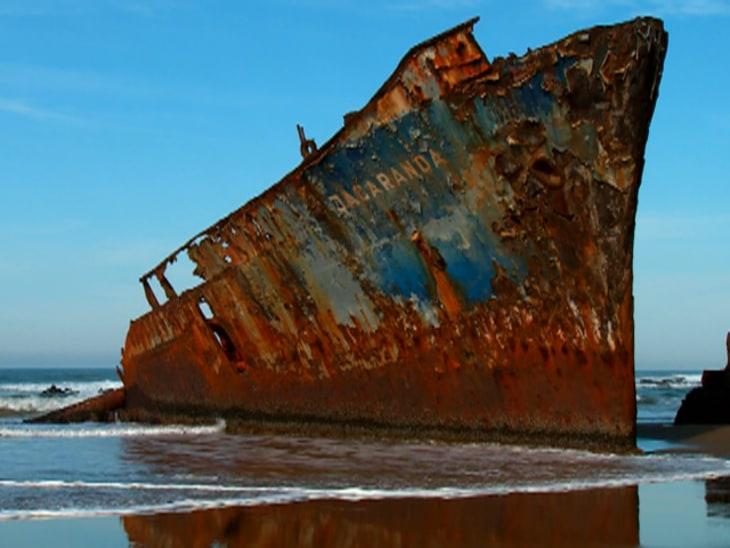 Miracle On The Wild Coast Video On NBCNewscom - Sinking cruise ship oceanos