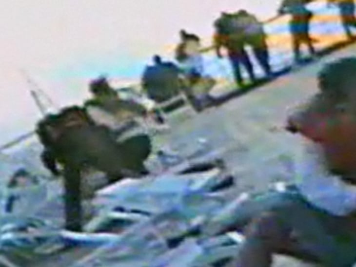 Preview Dateline Sunday Miracle On The Wild Coast Video On - Sinking cruise ship oceanos