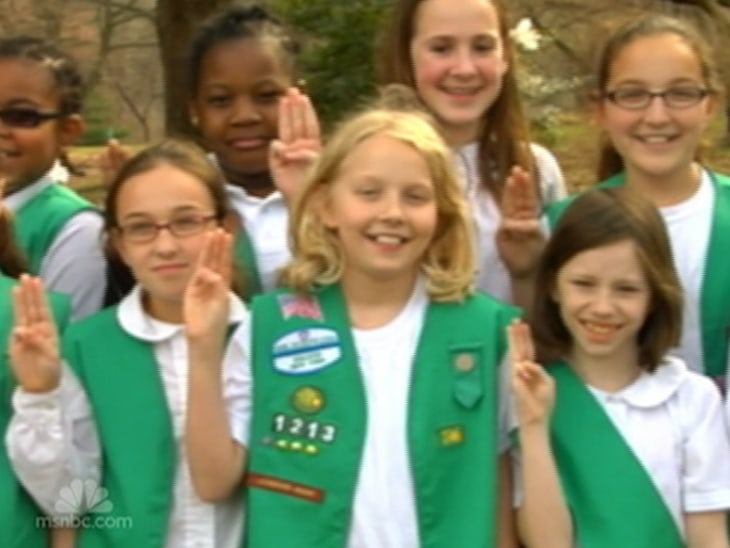 Consider, girl scout uniforms are