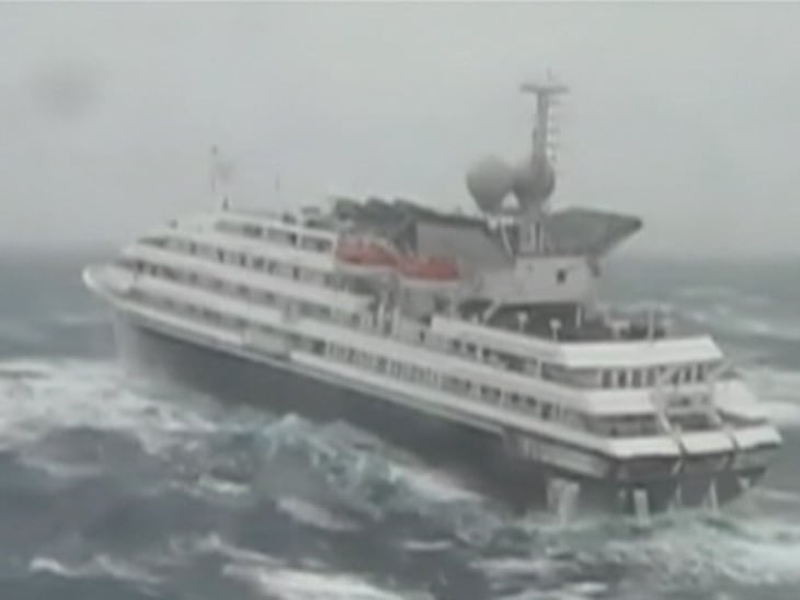 Storm-battered Cruise Ship Makes Land - Video On NBCNews.com